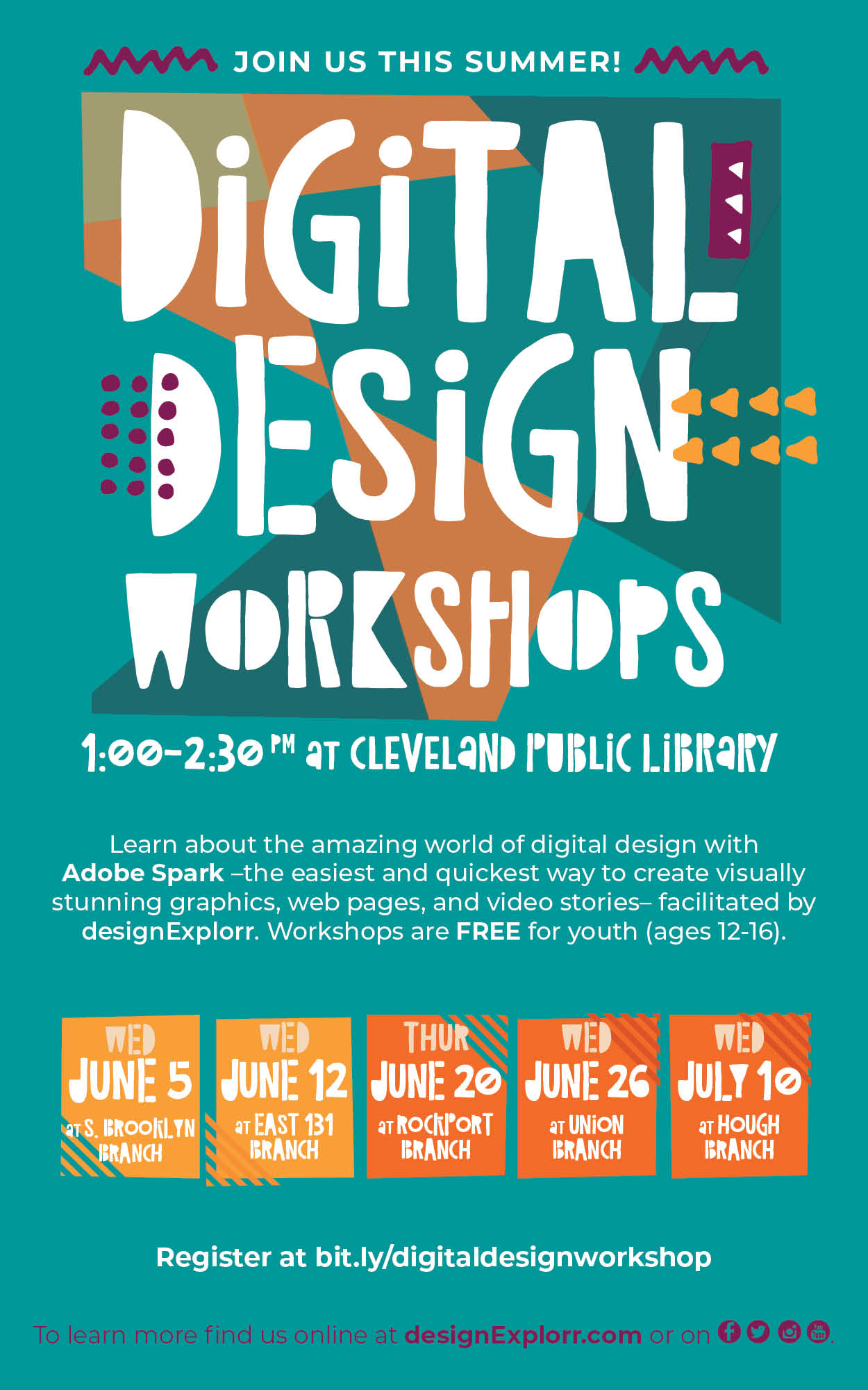 Digital Design Workshops | designExplorr
